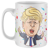Happy Birthday Boris Lockdown Mug