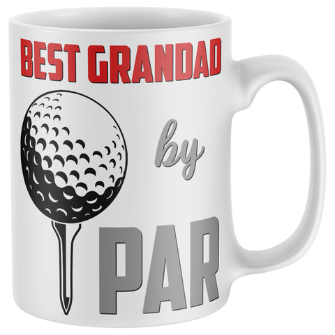 Best Grandad by Par Golf Mug
