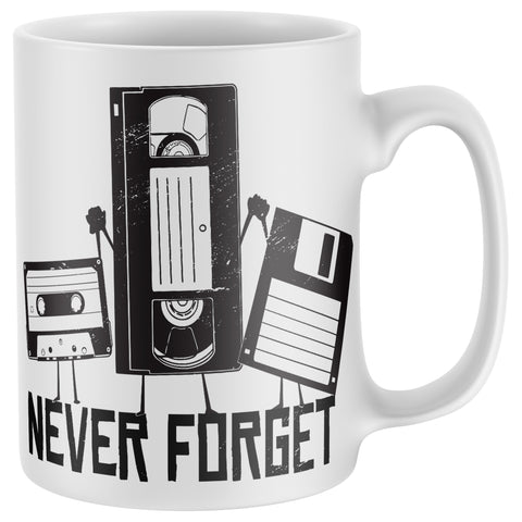 Never Forget Retro Mug