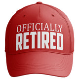 Officially Retired Baseball Cap