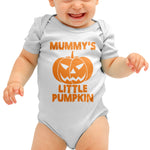 Mummy's Little Pumpkin Halloween Baby grow - Purple Print House