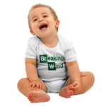 Breaking Wind Funny Baby grow - Purple Print House