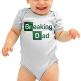 Breaking Dad Funny Baby grow - Purple Print House
