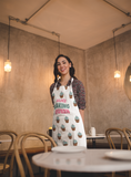 Personalised Baking Queen Apron - Purple Print House