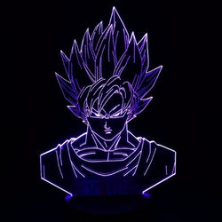Dragon Ball Super Sayan Multicolore - LesLampes.fr
