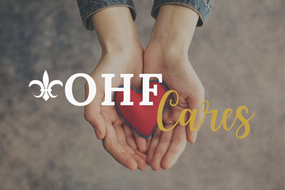 OHF Cares - Giving Back in the First Quarter of 2021