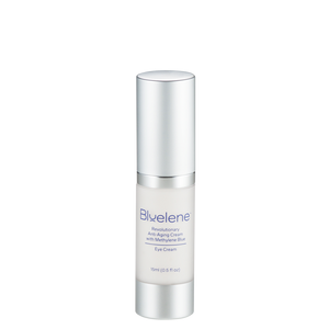 bluelene anti-aging eye cream made with methylene blue