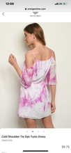 Load image into Gallery viewer, Tennyson Tie Dye Dress