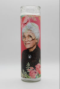 "Estelle Getty ""Sophia"" Celebrity Prayer Candle"