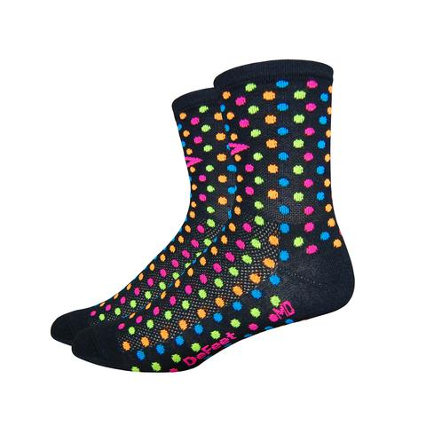 "DeFeet Aireator 4"" spotty black"