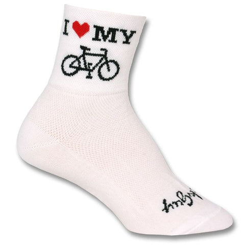 Sockguy Heart My Bike