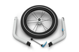Chariot jogging wheel