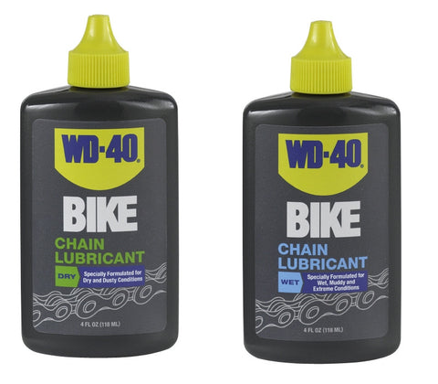 WD-40 chain lubricant