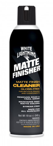 White lightning matte finisher