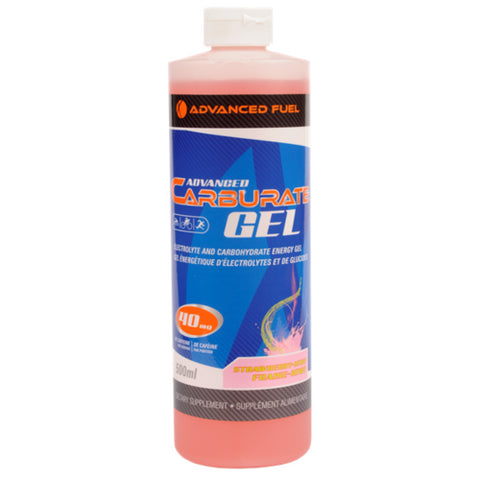 Advanced fuel Advanced carburate sports gel