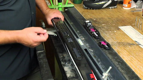 Ski: Binding switch | Transfert de fixations