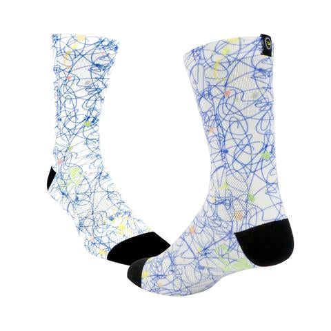 DeFeet Levitator Lite print paint splatter