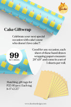Load image into Gallery viewer, Cake Giftwrap