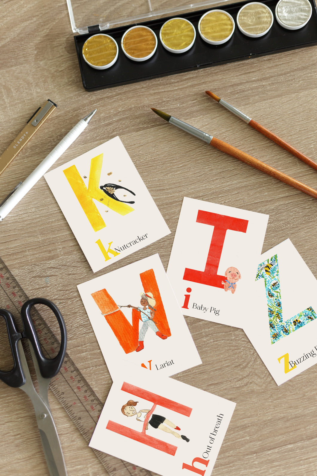 Alphabet Phonics Flashcards