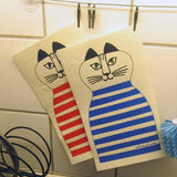 lisa larson trull katt diskduk cat dishcloth