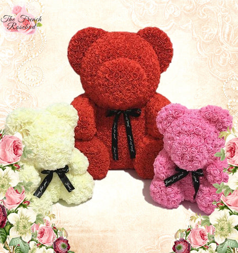 Silky Adore Rose Teddy Bear
