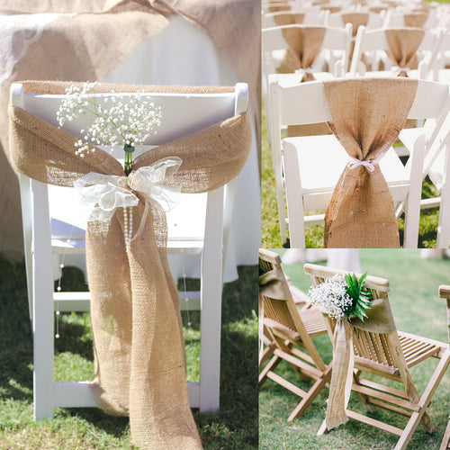 Vintage Jute For Chair Decoration