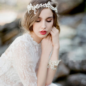 Beautiful Handmade Vintage Bridal Headpiece