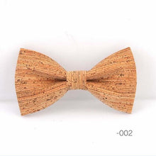 Load image into Gallery viewer, Stylish Handmade French Bow Tie Made Out Of Cork