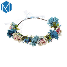 Load image into Gallery viewer, Beautiful Floral Crown Wedding Hair Band