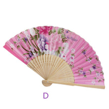 Load image into Gallery viewer, Gracious Vintage Folding Flower Fan