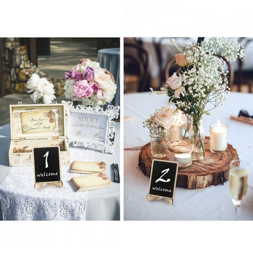 30pcs Chalkboard Wedding Signs Place Cards
