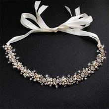 Load image into Gallery viewer, Luxury Crystal And Pearl Bridal Headpiece