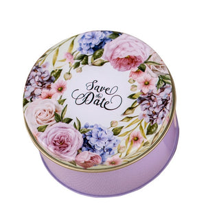 Gorgeous Vintage Flower Tin - Perfect for Favours