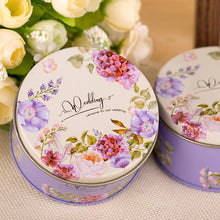 Load image into Gallery viewer, Gorgeous Vintage Flower Tin - Perfect for Favours