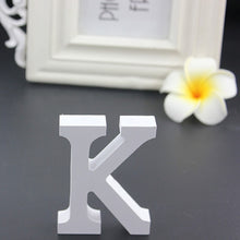 Load image into Gallery viewer, Romantic White Wooden Wedding Letters