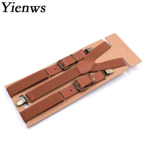 Men's Vintage looking 3 Clip Strap Braces for Trousers