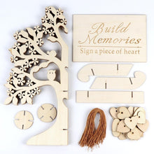 Load image into Gallery viewer, 3D Wooden  DIY Wedding Guest Book Tree