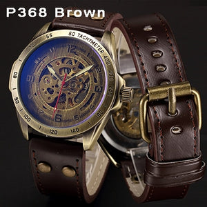 Men's Vintage Mechanical Automatic Self Winding Watch