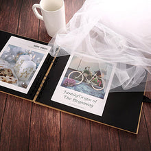 Load image into Gallery viewer, 20/40 Pages DIY Wedding Scrapbook/ Photo Album