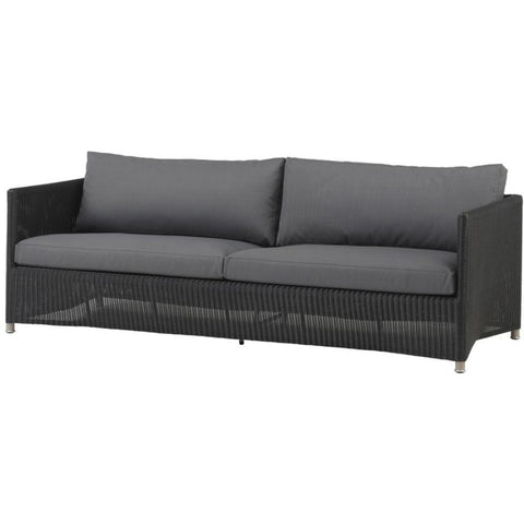 Cane Line Diamond 3 Seater Sofa Weave - 8503LGSG