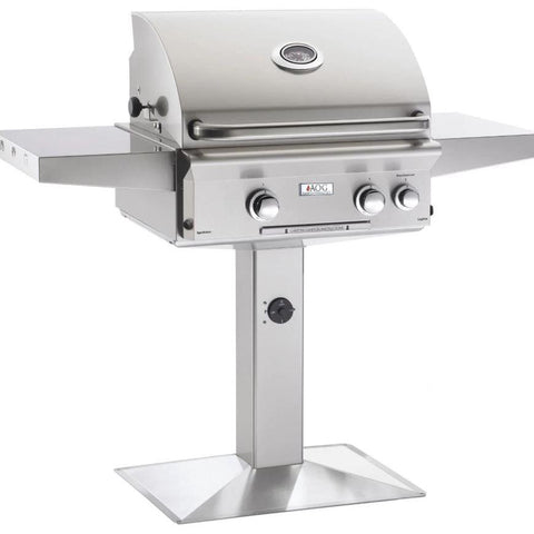 "Image of Fire Magic T Series 24"" 2 Burner On Pedestal Natural Gas Grill - 24NPT-00SP"