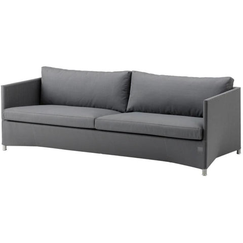 Image of Cane Line Diamond 3 Seater Sofa  Tex & Cane-line Natté - 8503TXSG