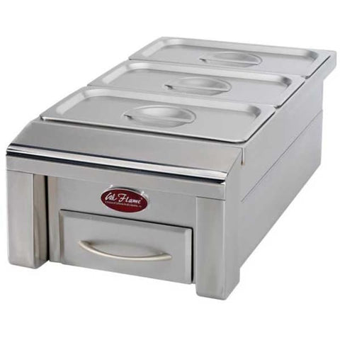 Cal Flame Drop-In Food Warmer - BBQ07888P