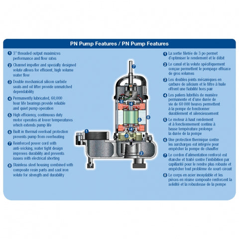 Image of Aquascape 12-PN 10,000 Solids Handling Pond Pump 30391