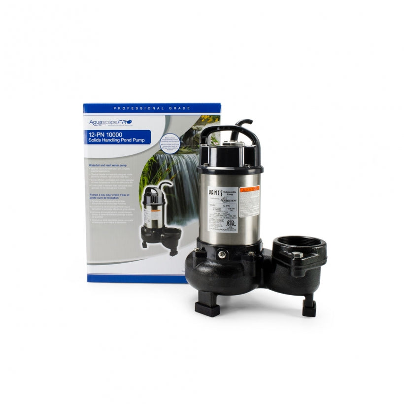 Aquascape 12-PN 10,000 Solids Handling Pond Pump 30391