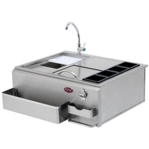 Cal Flame 30-Inch Built-In Bar Center With Sink - BBQ07902