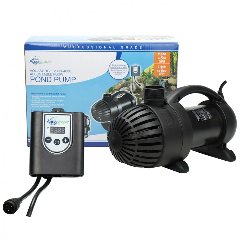 Aquascape AquaSurge Adjustable Flow Pond Pump 2,000-4,000 45009