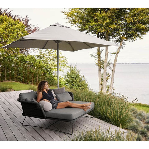 Image of Cane-line Major Parasol With Sliding System 3X3 m - 52300x300Y