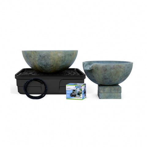 Aquascape Spillway Bowl and Basin Landscape Fountain Kit 58087