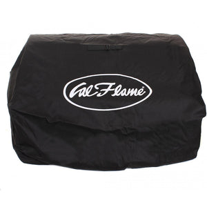 Cal Flame BBQ Grill Cover For Built-In Gas And Charcoal Grills - Black - BBQC2345BB